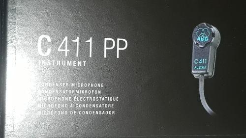 Nuevos!!! akg c411 micrófono. conector xlr. made in austria