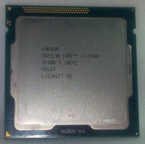 Procesador pc escritorio intel core i5 2400 socket 1155