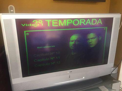 Televisor sony vega para repuesto o reparar