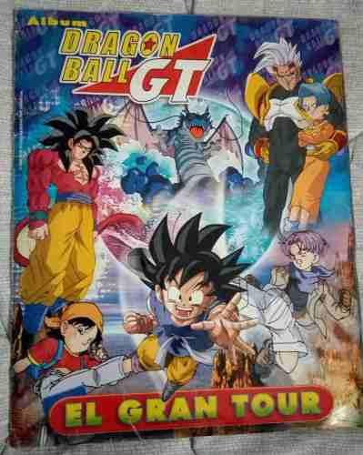 Album dragon ball gt 1 de navarrete 2001