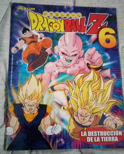 Album dragon ball z 6 navarrete 1999