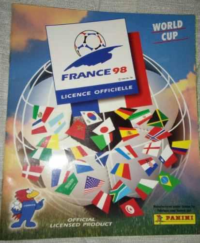 Album oficial mundial francia 98 panini