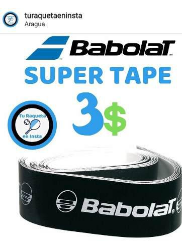 Cinta protectora para raquetas super tape babolat