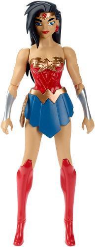 Figura dc liga d la justicia mujer maravilla h=30cm original