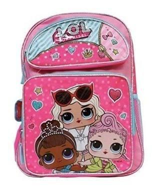 Morral muñecas lol surprise bolso escolar niñas original