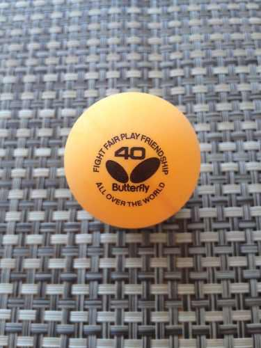 Pelotas para tenis de mesa butterfly