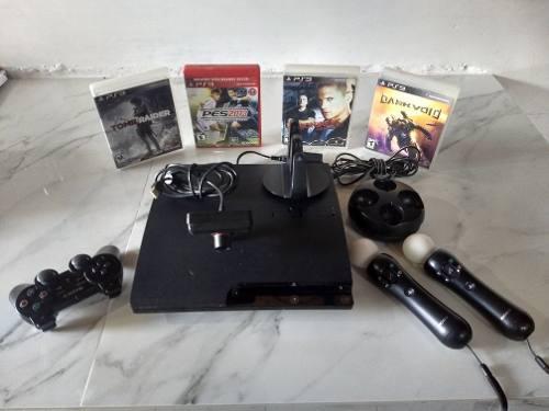 Playstation 3 de 320gb, full accesorios y regalo