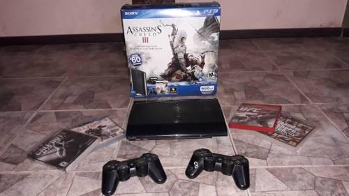 Playstation 3 ps3 super slim 500gb usado