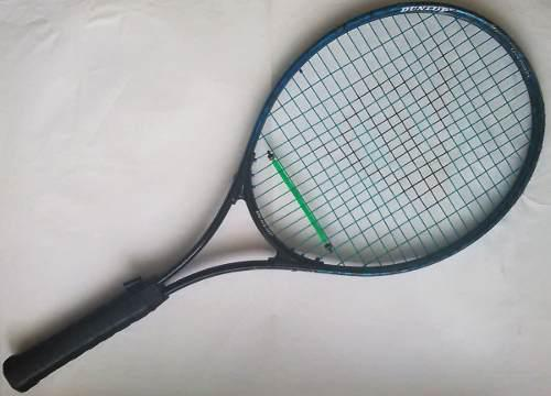Raqueta tennis original dunlop tamaño 41/2 power shot usada
