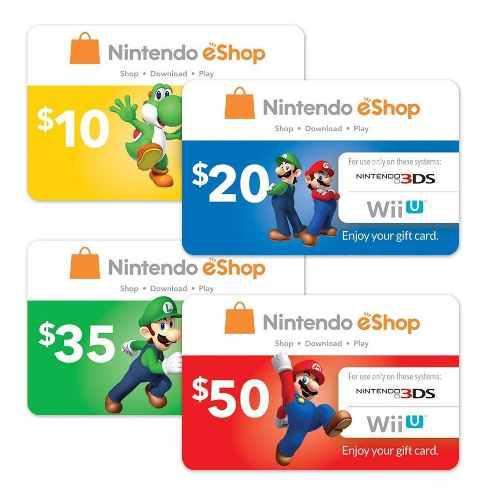 Store eshop nintendo tarjeta 3ds switch codigo digital usa