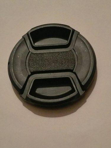 Tapa generica para lente de camara de 55 mm