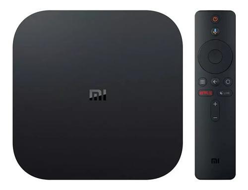 Xiaomi mi box s 4k streaming servicios música y películas