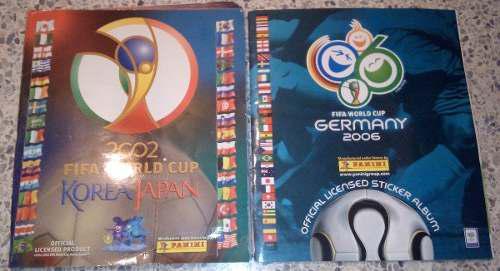 Lbum korea japón 2002 y álbum germany 2006 colección