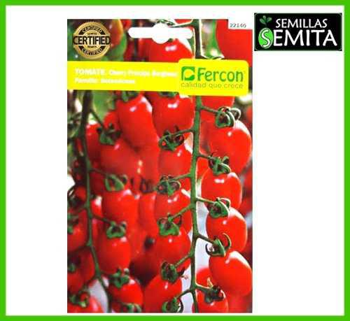 2 sobres de semillas de tomate cherry 3 gramos certificada