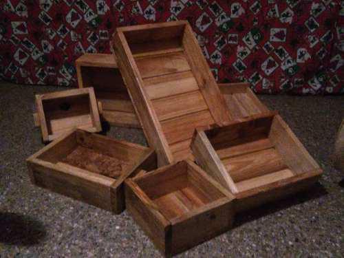 Cajas de germinación en madera decorativas y funcionales