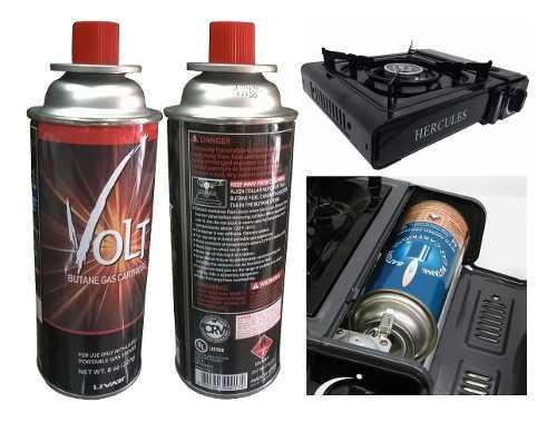 Gas butano para cocinas portatil de cartucho cilindro r4