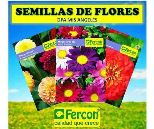 Semillas de flores para tu jardin