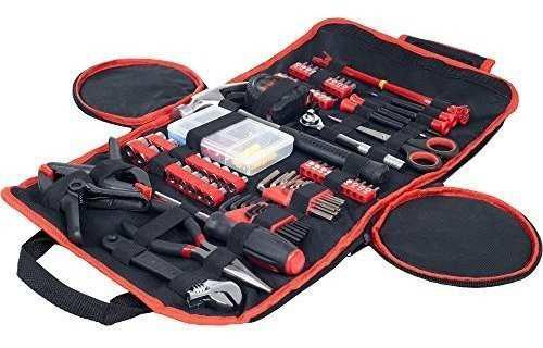 Stalwart kit herramienta hogar auto oficina roll up upkf