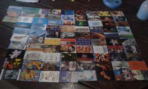 Coleccion tarjetas cantv