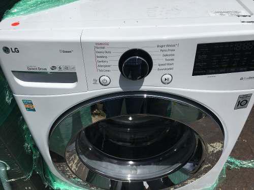 Lavadora l g 21 kg automatica