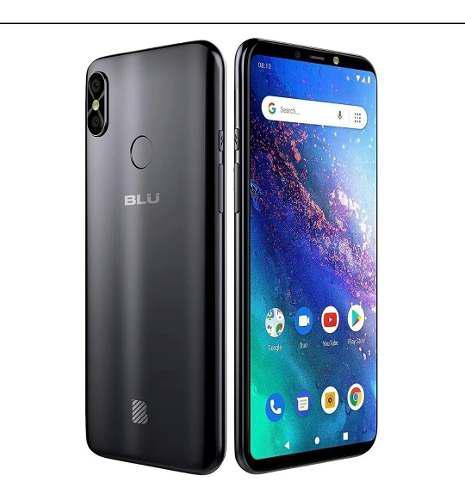 Blu vivo go 6.0 hd premium, 4g lte, fingerprint, android 9