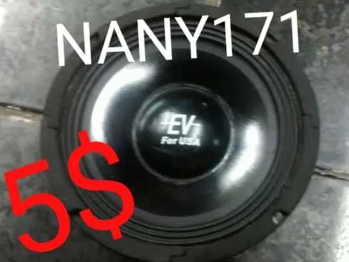 Corneta medio 6 1/2 ev 8-ohm 5$ y reparo bobina