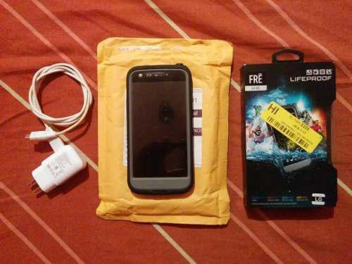 Lg g5 h830 32gb liberado + forro lifeproof