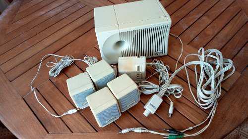Set de 5 cornetas para computadora con control de volumen