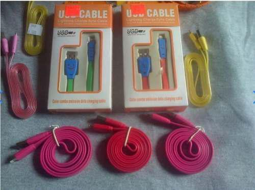 Cable de datos cargador iphone 5 6