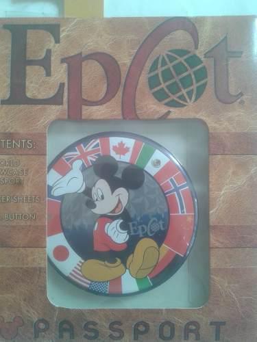 Chapa o pin mickey en epcot ideal para coleccionista leer