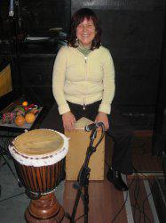 Clases de percusión afrolatina, cajón flamenco y maracas