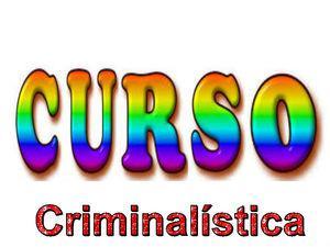 Criminologia, criminalística, ciencias forenses, unos