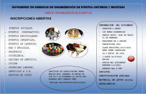 Diplomado de organización de eventos