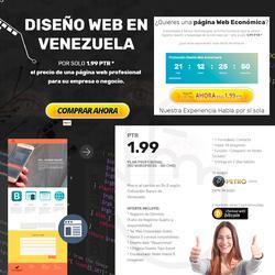 Diseño web venezuela precios