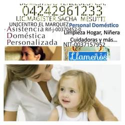 Domésticas 04242961233venezuelac. a04242961233 cuidadoras