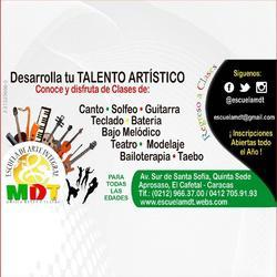 Escuela de musica mdt: canto, percusion, guitarra, teclado,