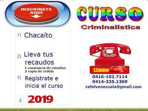 Estudios curso de investigación penal y criminalística