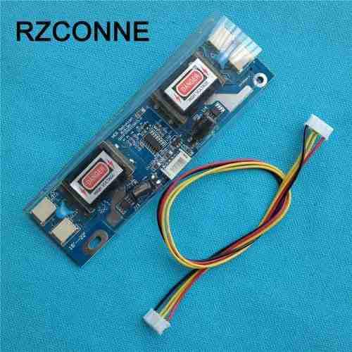 Inversor monitor ccfl 4 lamparas universal 10-28 vcc
