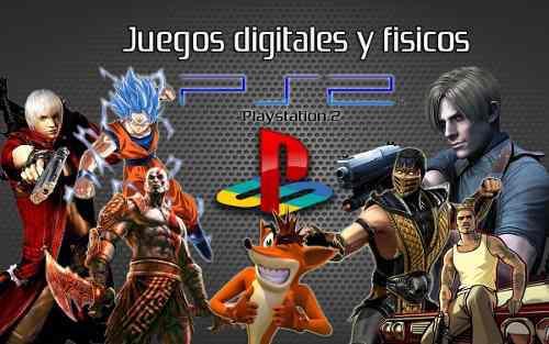 Juegos digitales y fisicos de playstation 2 somos tienda