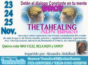 Mente en calma con thetahealing
