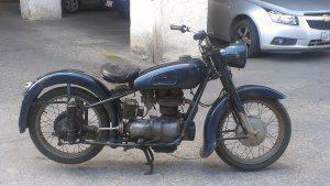 Moto de coleccion bmw r25 año 1954