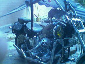 Moto harley davison 1340 cc. soft tail 1994.