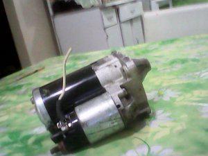 Motor de arranque para renault logan (usado) bsf. 25.00 tlf.