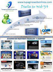 Promo escoje tu pagina web de 2 modelos + dominio+hosting +