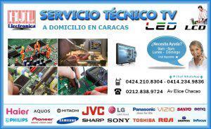 Reparación tv led, lcd a domicilio en caracas 04242108304