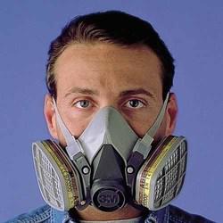 Atención! mascaras media cara 3m y speriam