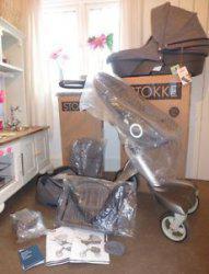 2014 stokke xplory v4 completa del cochecito de bebé
