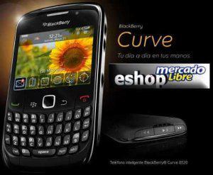 Blackberry geminis curve 8520 nuevo desbloqueado wifi
