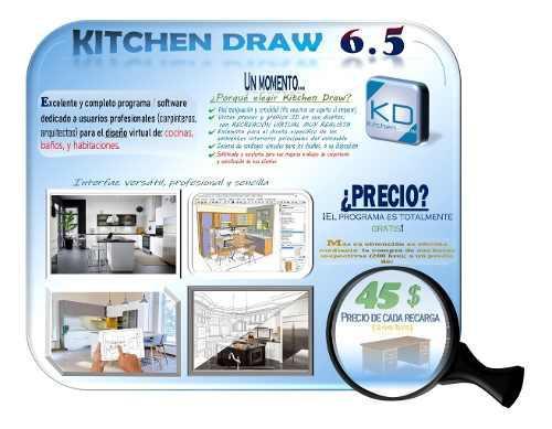 Kitchendraw 6.5: diseña profesionalmente