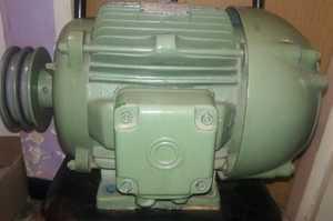 Motor trifasico hp.9 rpm 1740